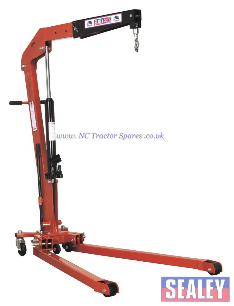 Folding Engine Crane 1tonne.